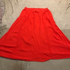 Abercrombie & Fitch Midi Skirt